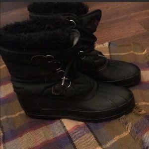 Black Sorel Winter Boots